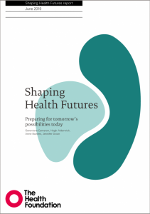 Shaping health futures report